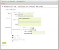 Polymod application management