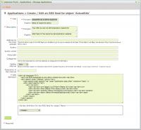 RSS feed properties