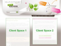 Two clients spaces template